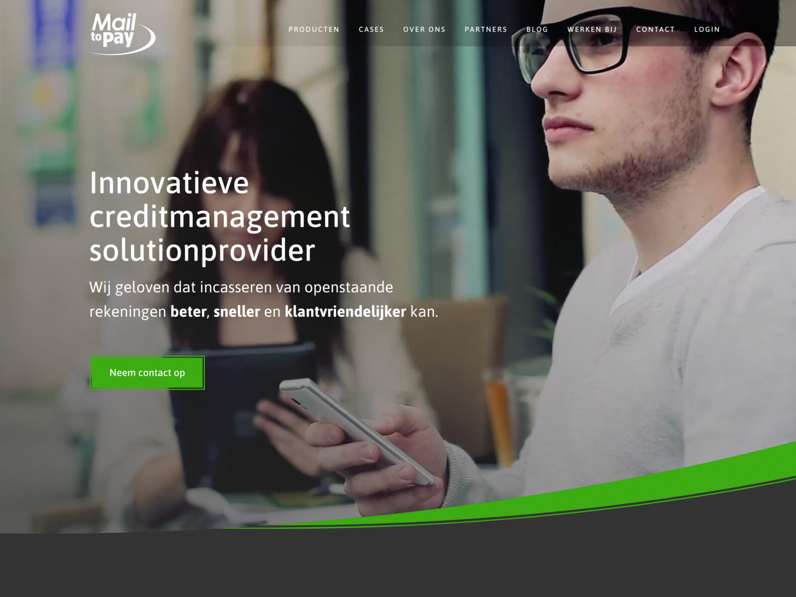 Mailtopay homepage